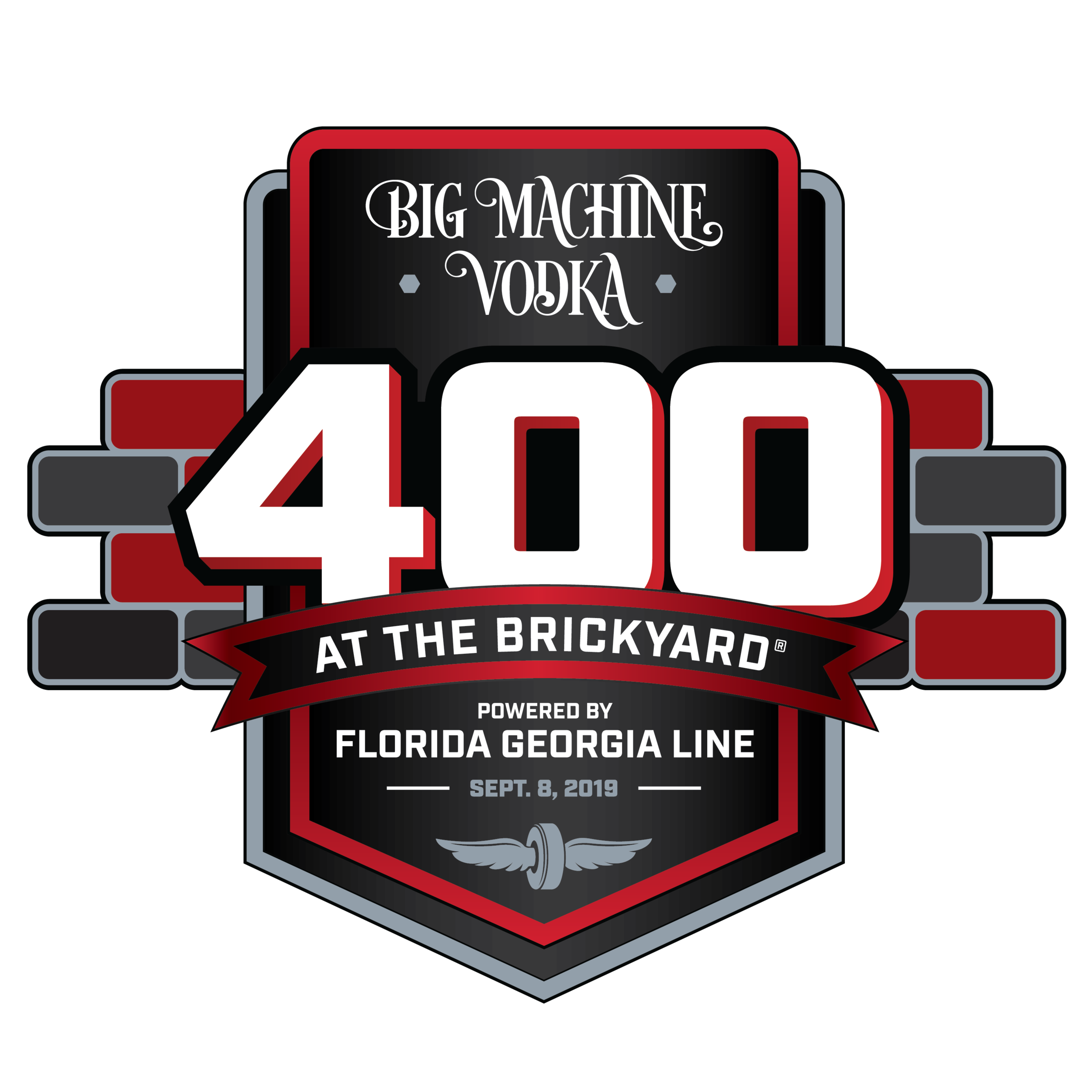 Big Machine Vodka 400 at the brickyard powered by Florida Georgia line - To kick off distribution of Big Machine Vodka in Indiana, Country Music's hottest duo Florida Georgia Line, 2018 Daytona 500 Winner Austin Dillon and other celebrities joined Tenn South Distillery executives in Indianapolis. They also announced a three year partnership as entitlement sponsors of Indianapolis Motor Speedway's iconic NASCAR race.