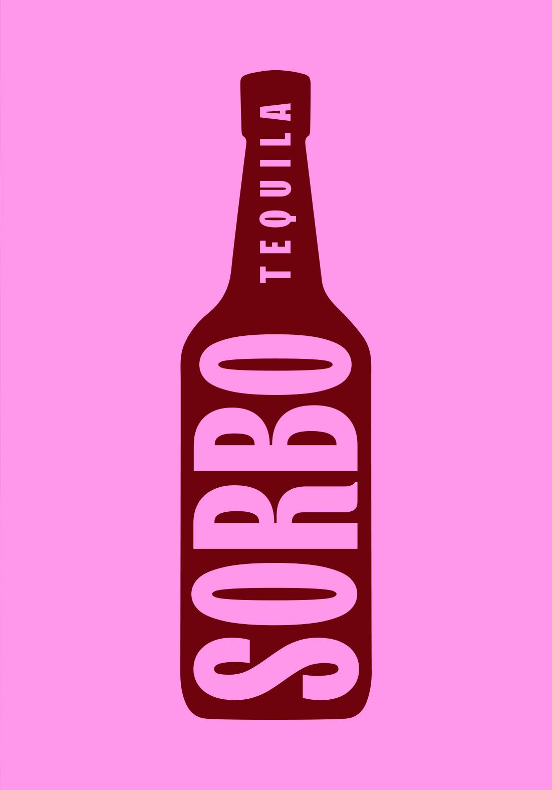 Sorbo Tequila Bottle Type Design