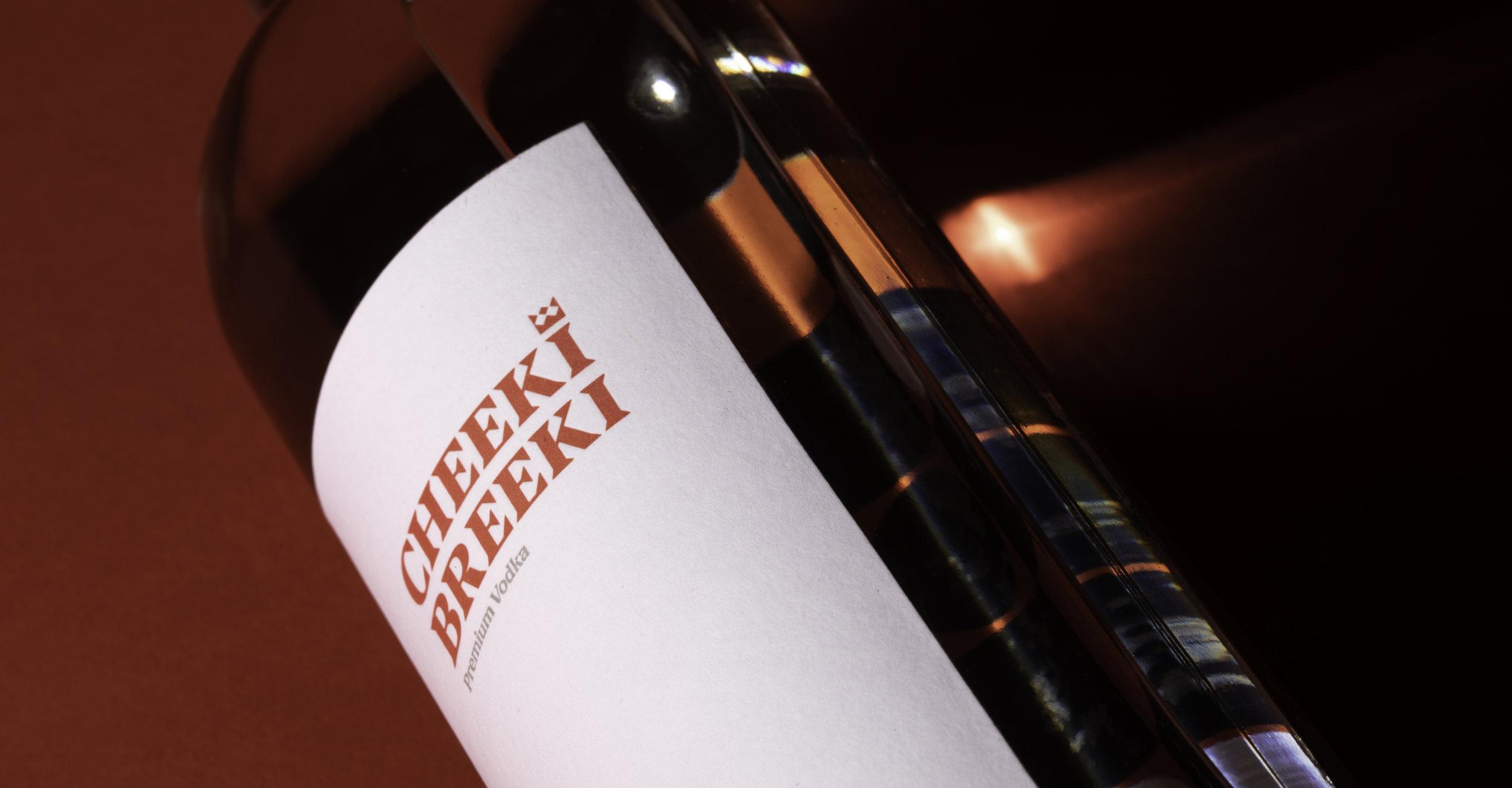 Cheeki Breeki Bottle Photography done by Lazaris in their studio in Portland, Oregon.