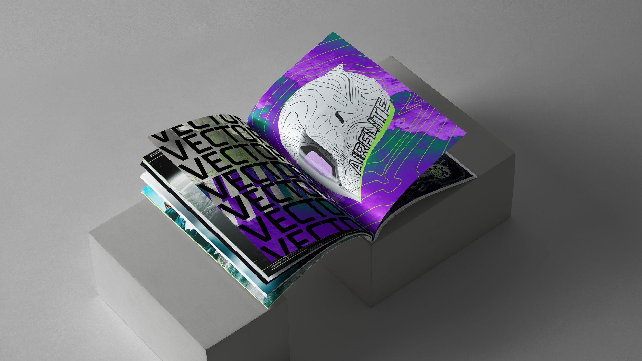 Airflite Vector Magazine Advertisement