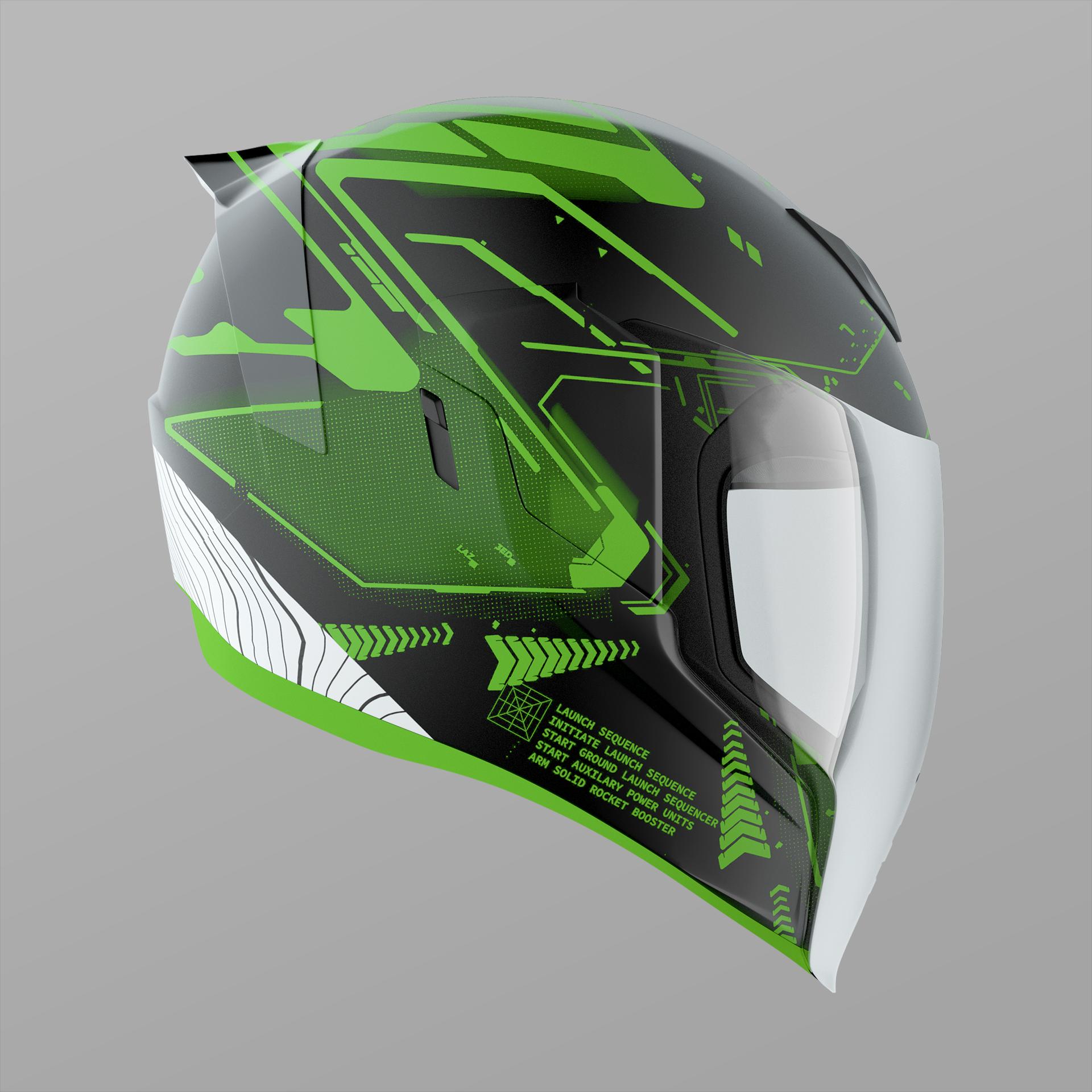 Icon Motorsports Vector Helmet