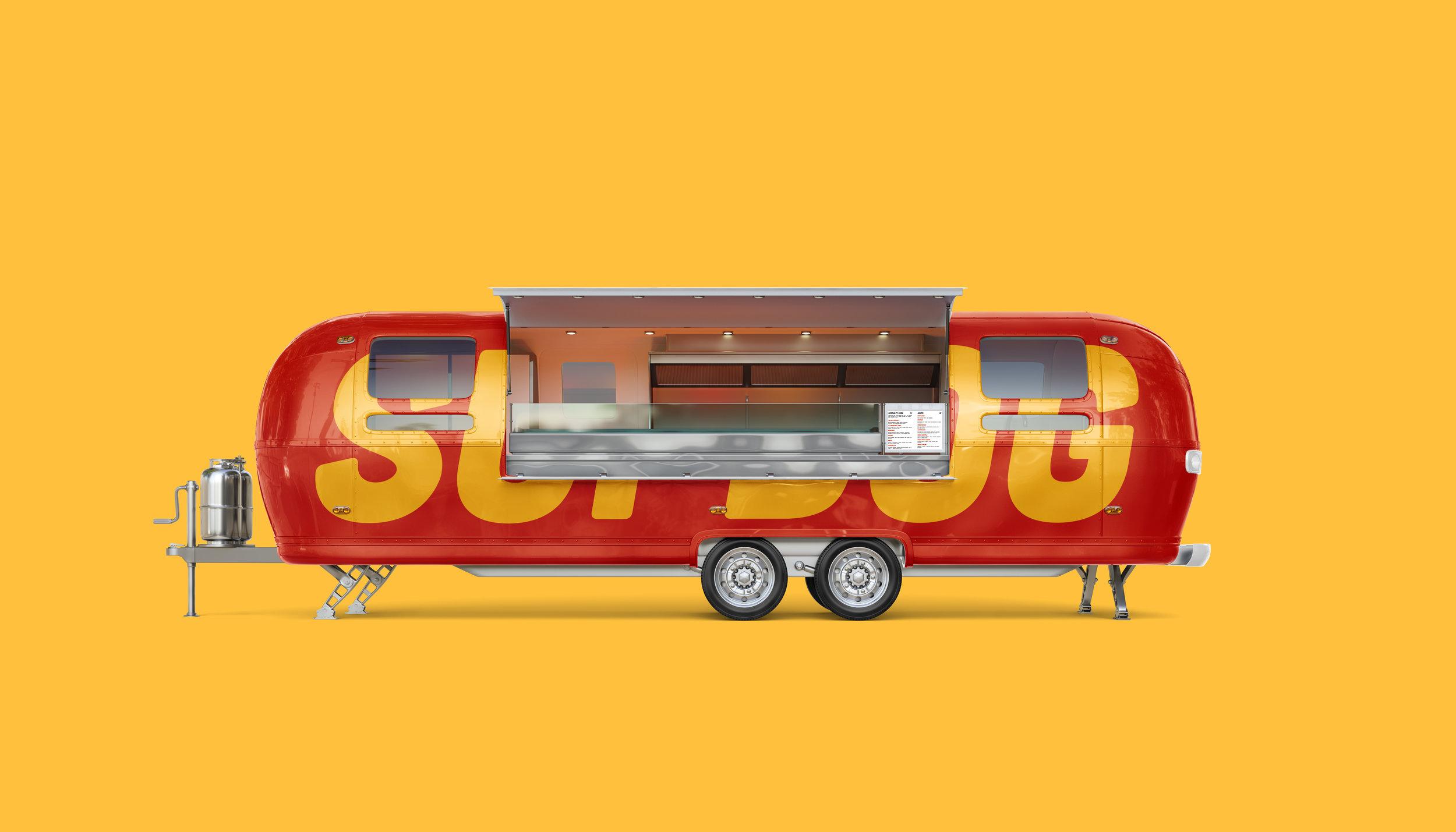 Sup Dog Food Truck Design