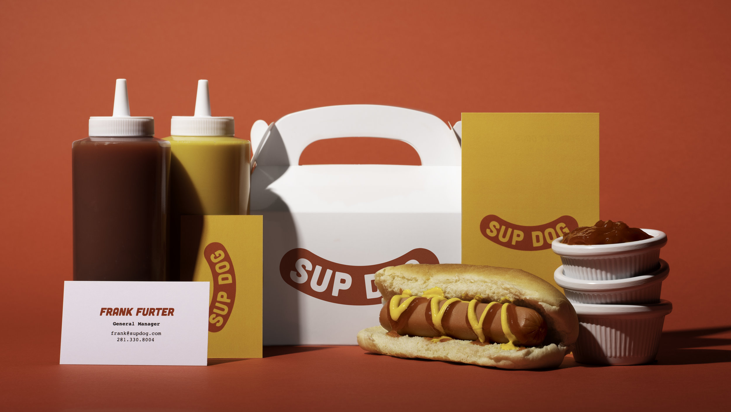 Sup Dog Collateral and food photography