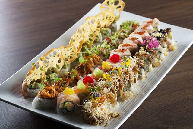 Celebrate Labor Day weekend starting tonight at KĀI! Unwind and relax with live DJs and food + drink specials every night including Sunday.  On Sunday enjoy a complimentary glass of bubbles along with half-priced sushi from 4pm-close.  #kai #kailegacywest #legacywest #planofood #planorestaurants #plano #asiancuisine #asian #southeastasian #eatdrinkenjoylife #foodie #laborday #labordayweekend #sushi #halfpriced #bubbles #prosecco #labordayparty #labordayspecials #internationalbaconday