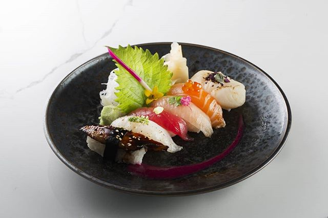 Vibrant, colorful, fresh fish, flown in daily to ensure our food is prepared with only the best ingredients.  Choose from our selection of Nigiri, Sashimi and Maki.  #kai #kailegacywest #legacywest #happyhour #planohappyhour #planorestaurants #dallasrestaurants #dessert #eatdrinkenjoylife #nigiri #sushi #maki #eel #salmon #tuna #scallop