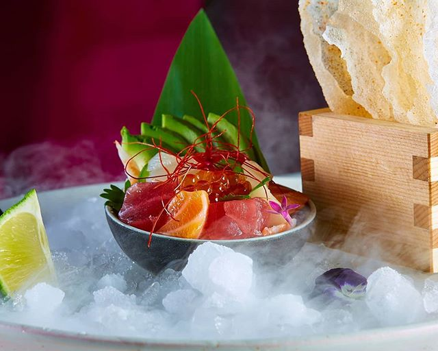 The ultimate summer dish. Our Seafood Ceviche is filled with vibrant, fresh fish, mixed with cucumber, avocado, mango, cilantro, ikura, and crispy rice wafer.  #kai #kailegacywest #legacywest #planofood #planorestaurants #plano #asiancuisine #asian #southeastasian #eatdrinkenjoylife #foodie #ceviche #seafood #seafoodceviche #fish #sushi #sashimi