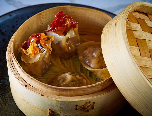 It's getting steamy in here...Our Dim Sum Delights are waiting for you. Wild mushroom, shrimp, duck and scallop dumplings steamed to perfection.  #kai #kailegacywest #legacywest #planofood #planorestaurants #plano #asiancuisine #asian #southeastasian #eatdrinkenjoylife #foodie #dimsum #dumplings #bamboosteamer #steam