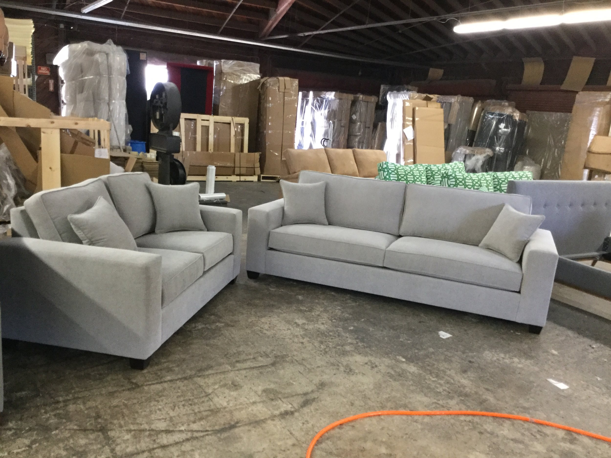 Custom Canwick Sofa