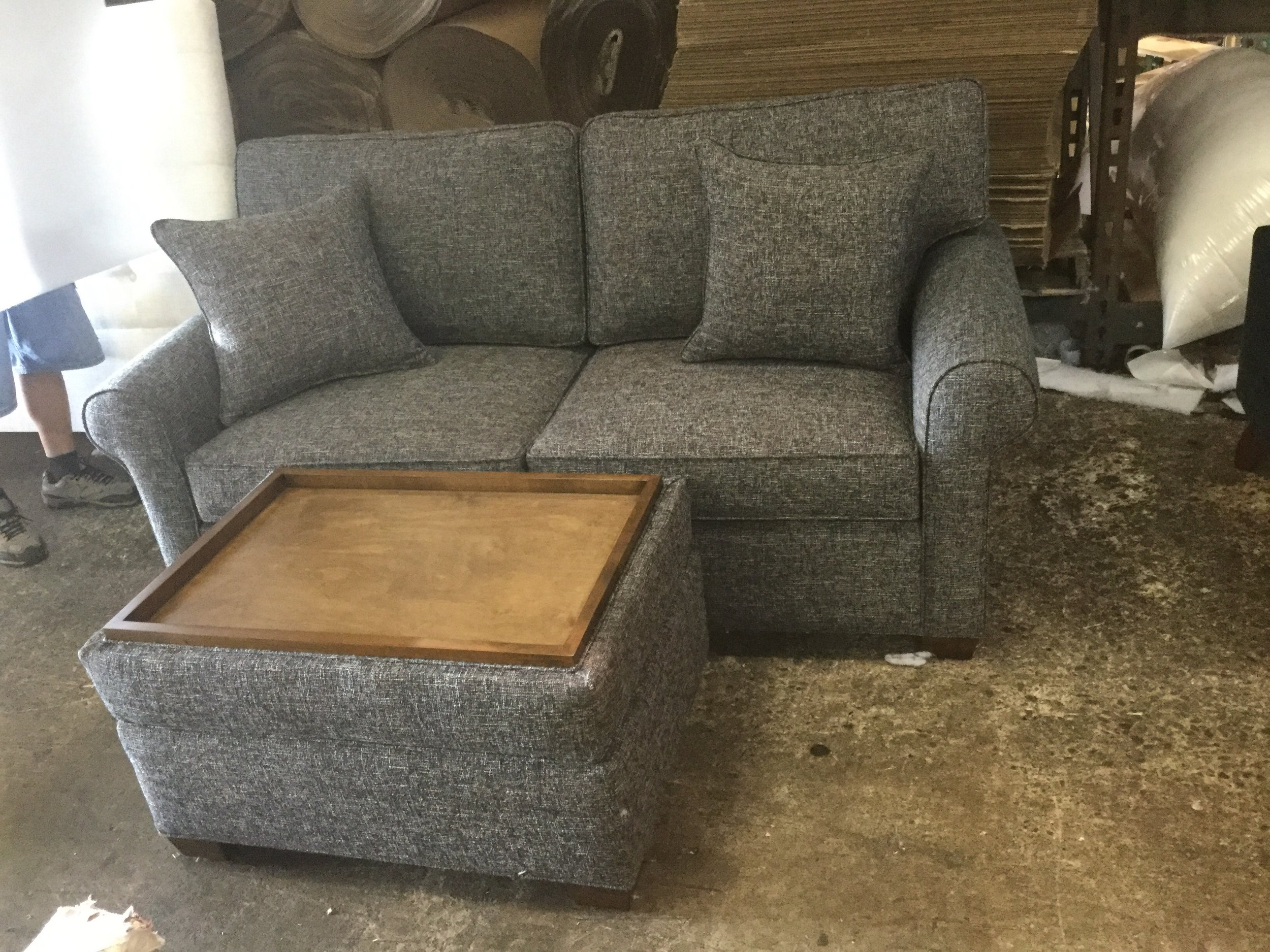 Kensington Sofa and Ottoman