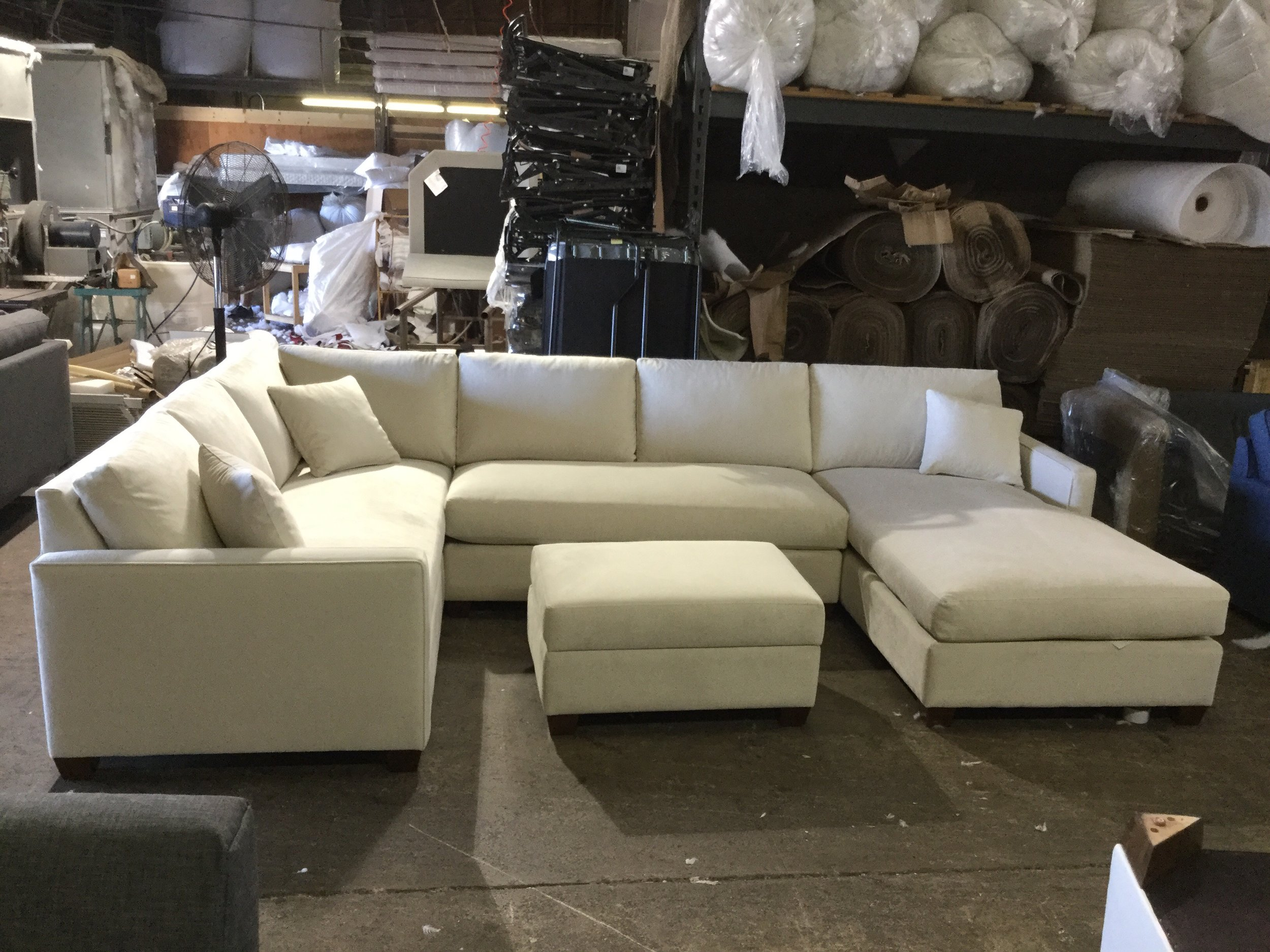 Custom Canwick Sectional