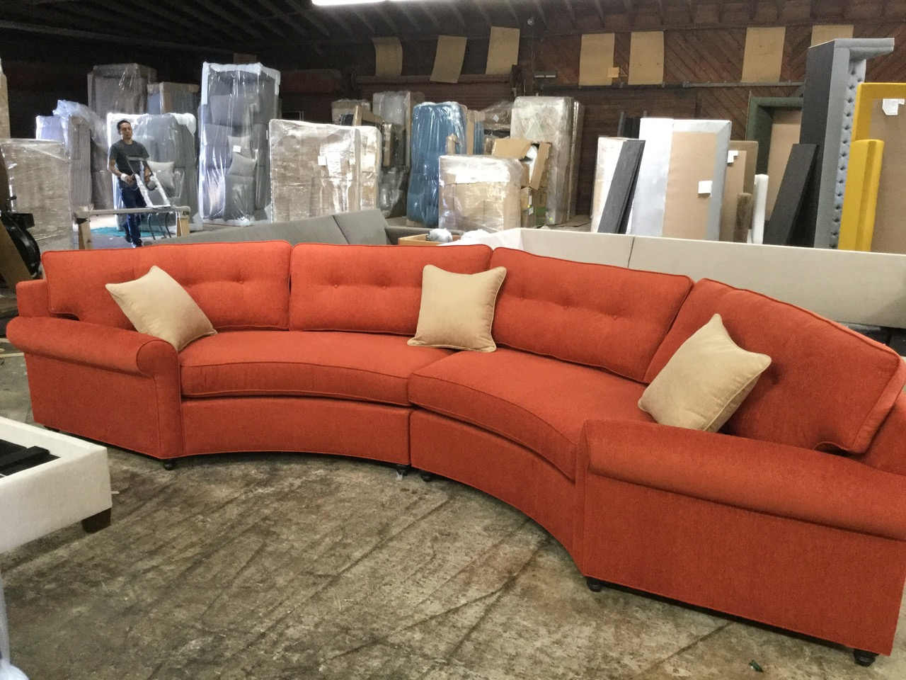 Custom Kensington Sectional