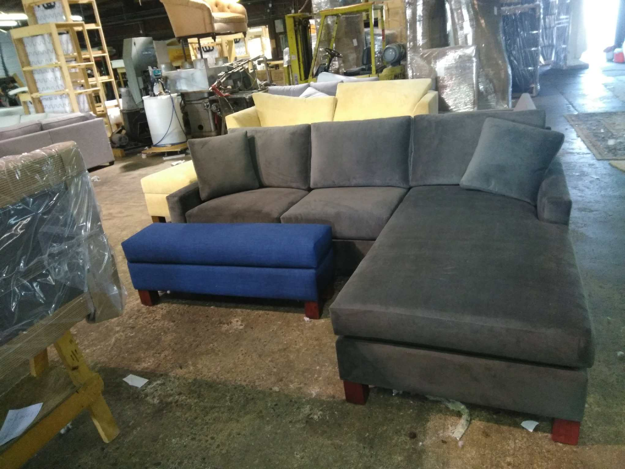 Custom Millport Sectional