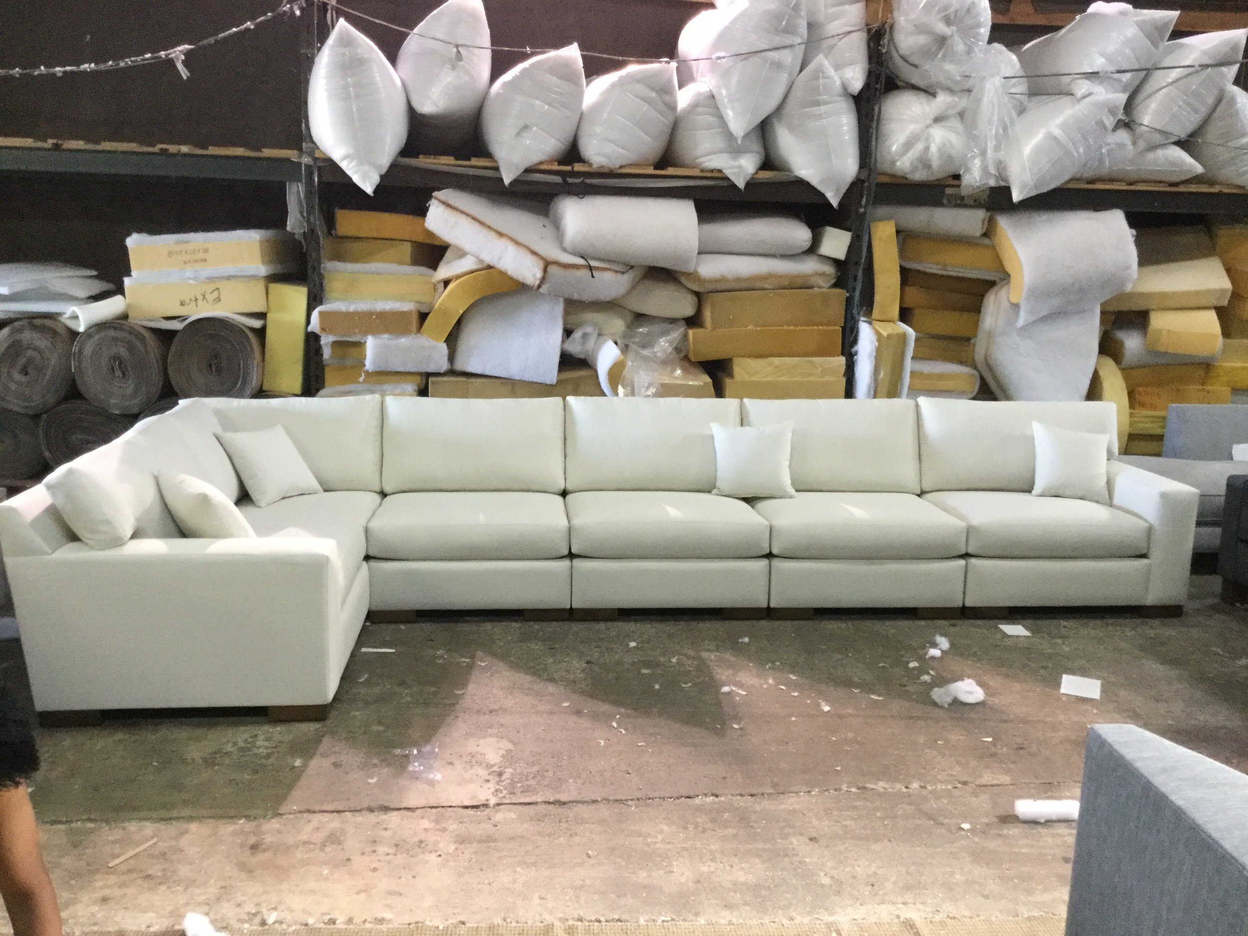 Custom Brentwood Sectional