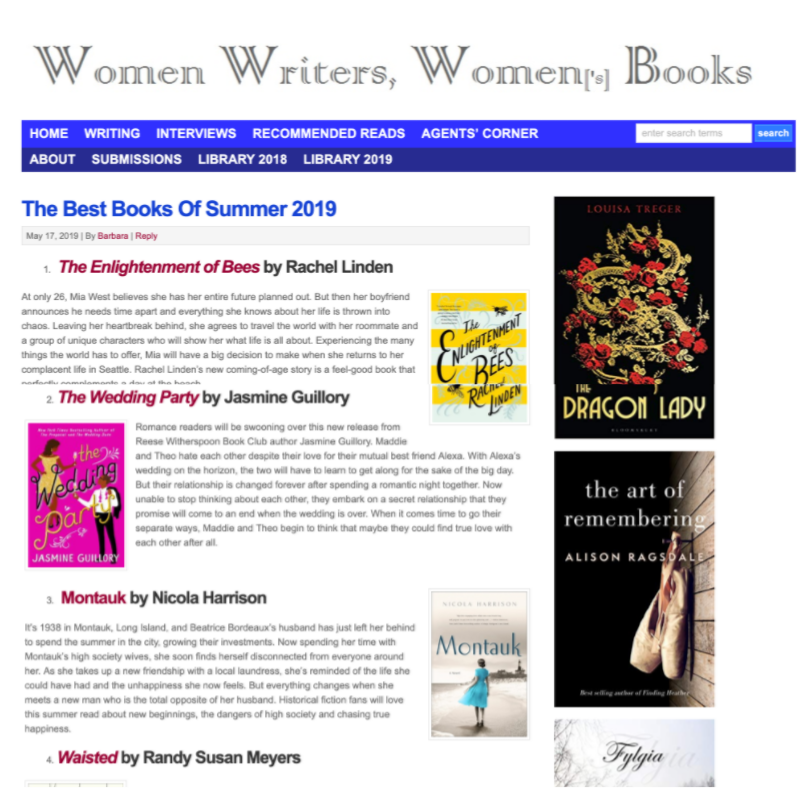 Women Writers, Women's Books