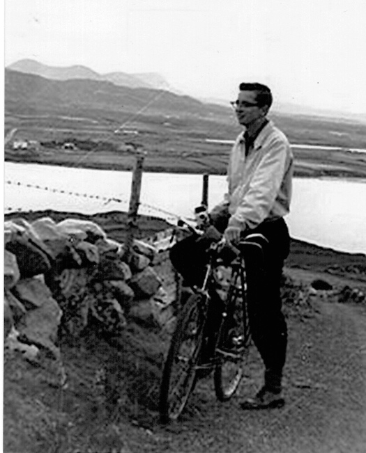 Thomas in Donegal, Ireland 1960