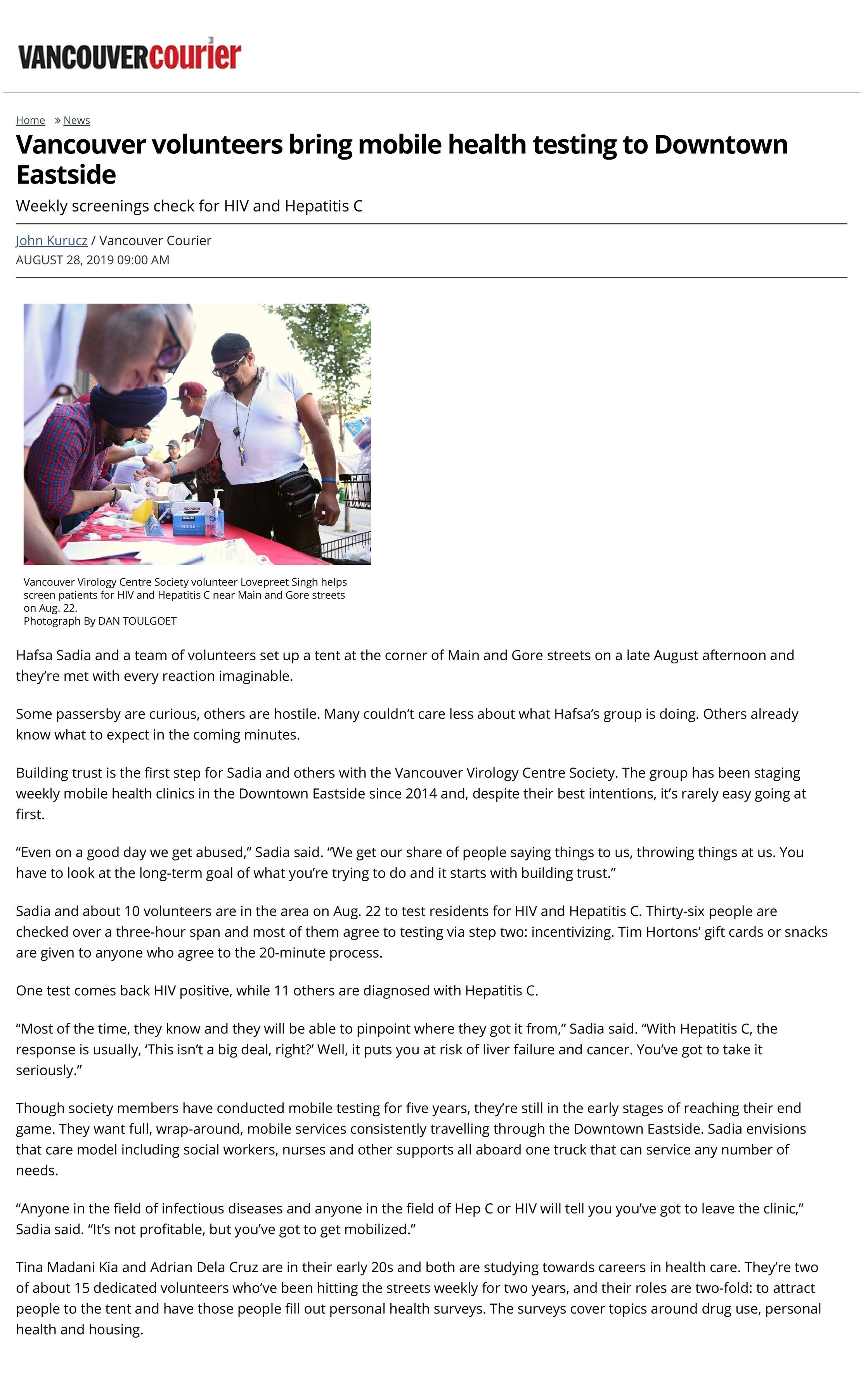 Vancouver volunteers bring mobile health testing to Downtown Eastside _ Vancouver Courier-page-001.jpg