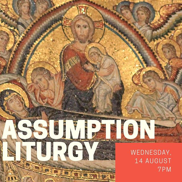 Join us this Wednesday, 14 August at 7pm as we celebrate the Feast of the Assumption of the Mother of God!  #catholic #maronite #tequesta #jupiter #palmbeach #mass #liturgy #mary #assumption #dormition #feast #holyday