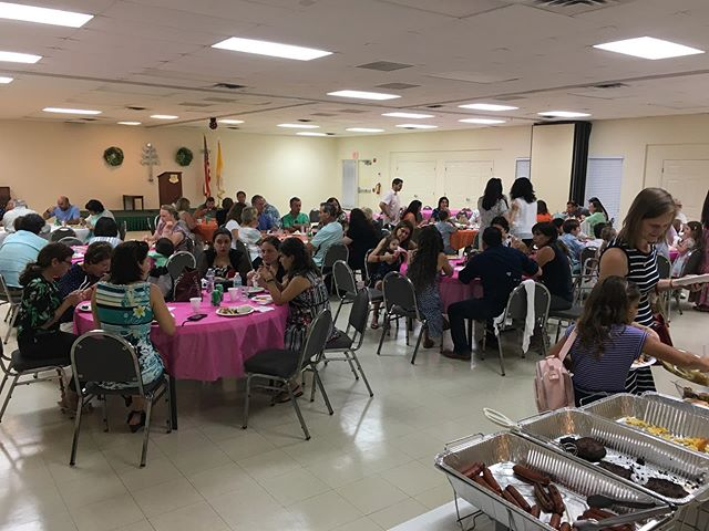 Thanks to everyone who made last Sunday's parish BBQ such a wonderful event!  #catholic #maronite #MMOL #MMOLA #tequesta #jupiter #palmbeach #florida #bbq #brunch #burgers
