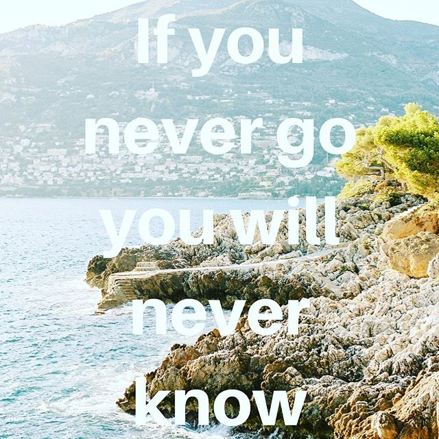 If you never go you will never know! Isn't that the truth.  Where do you want to go? . . . #letswander #travelfar #travelwide #letsgo #traveldifferent #travelagency #travelquote #inspirationalquote #travelinspo #surprisetravel #mysterytravel #letsgo