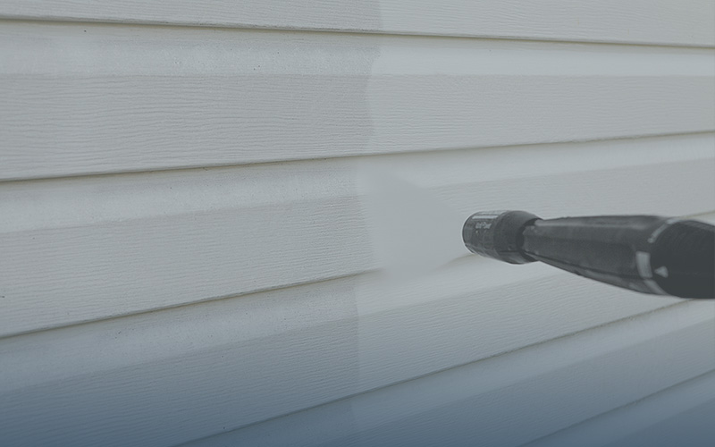 Pressure Washing - Restore your exterior surfaces with high quality pressure washing