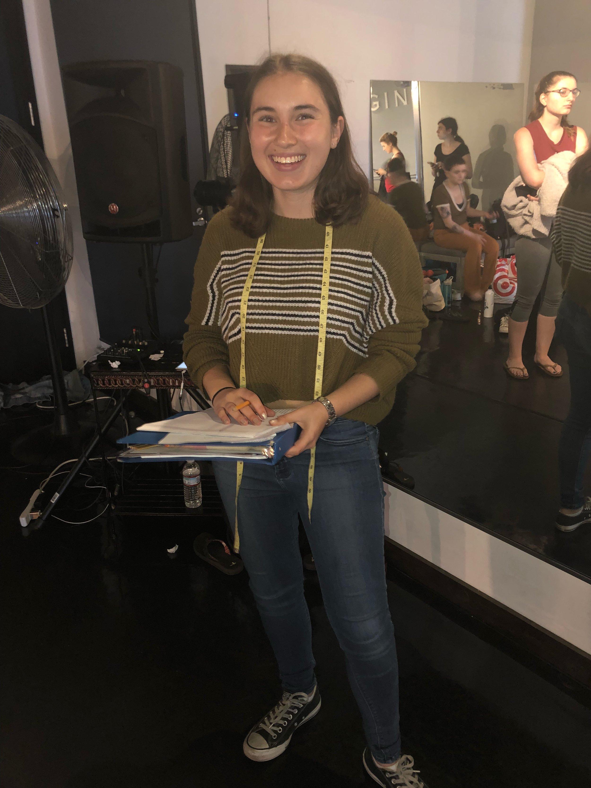 Madison - Costume Design Internship Summer 2018