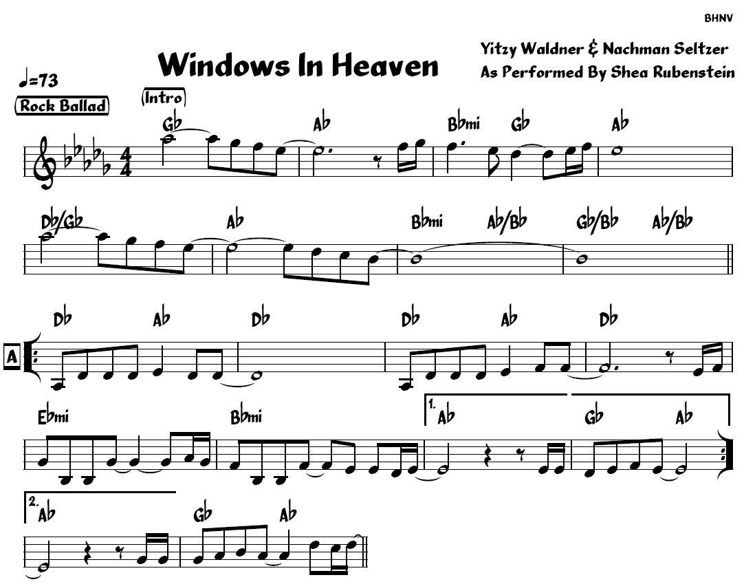 Window in Heaven