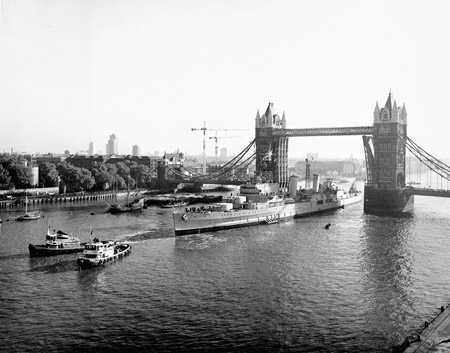 HMS Belfast 80th Anniversary