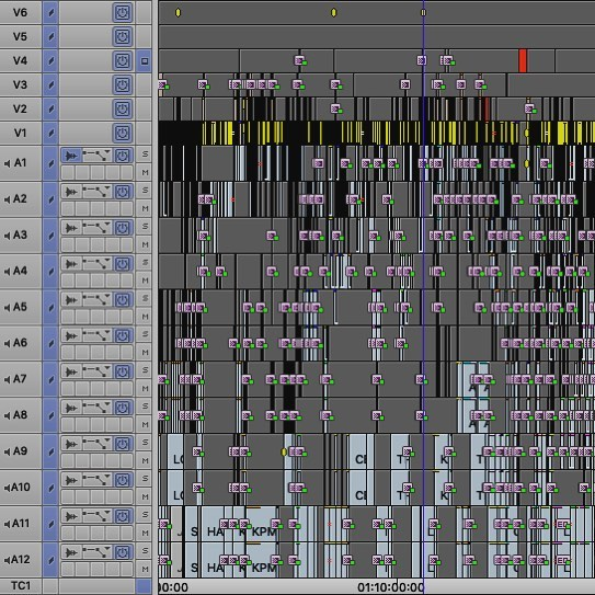 #timelinetuesday #avidmediacomposer