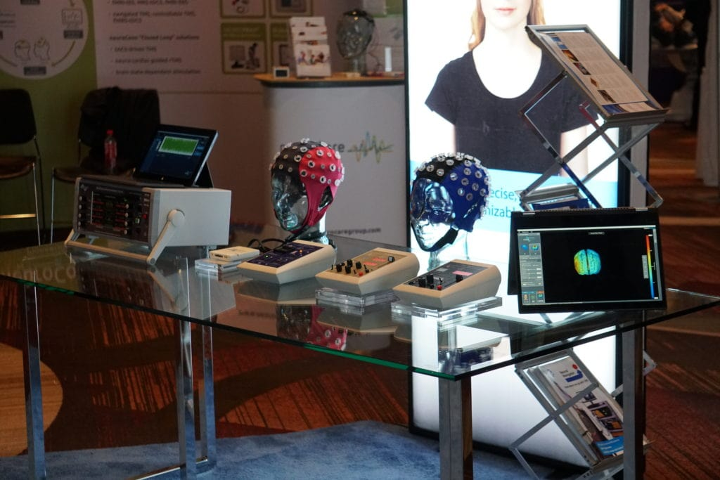 Soterix devices at their booth