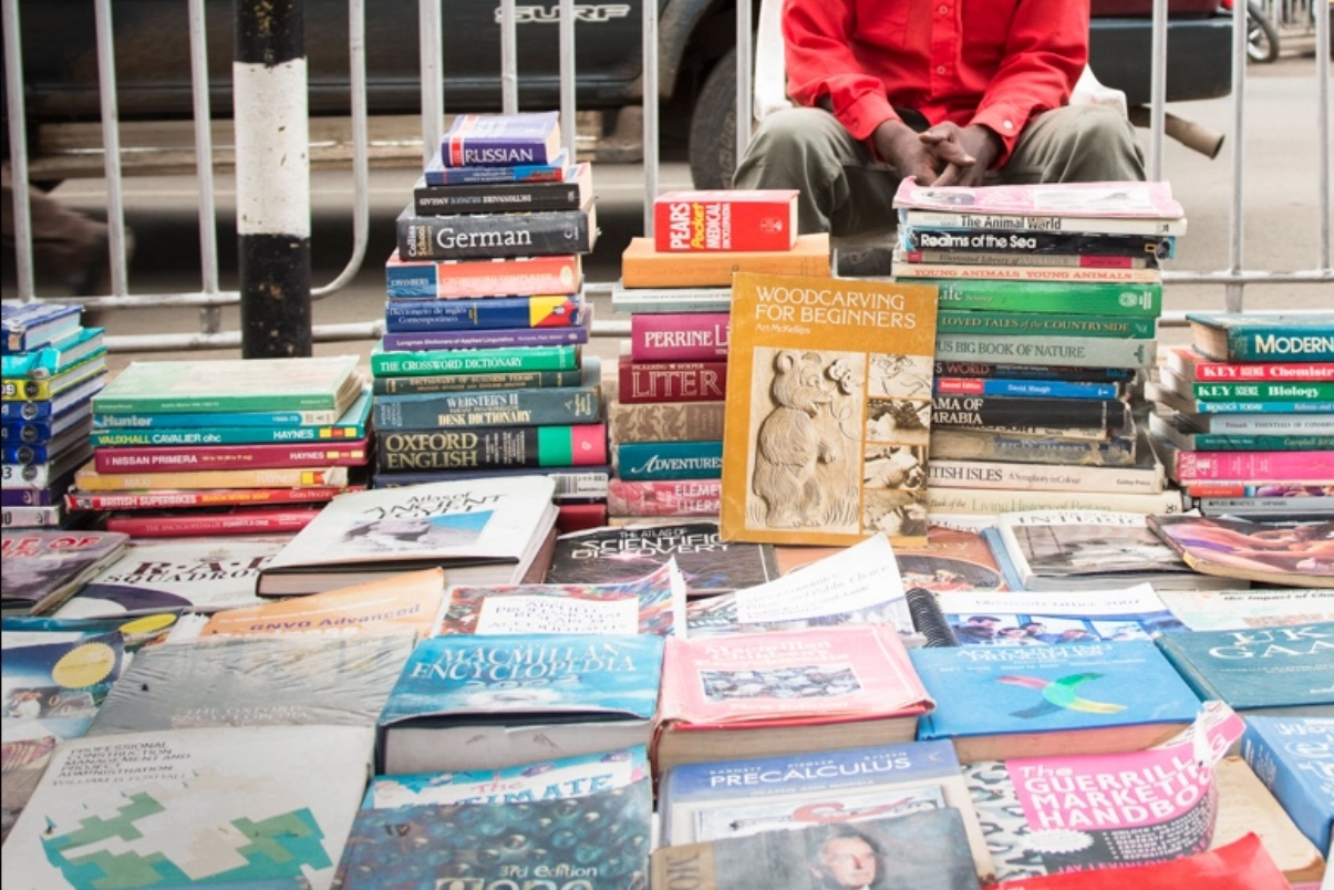 About - We ship your donated, gently-used books to local entrepreneurs in developing countries to sell affordably.