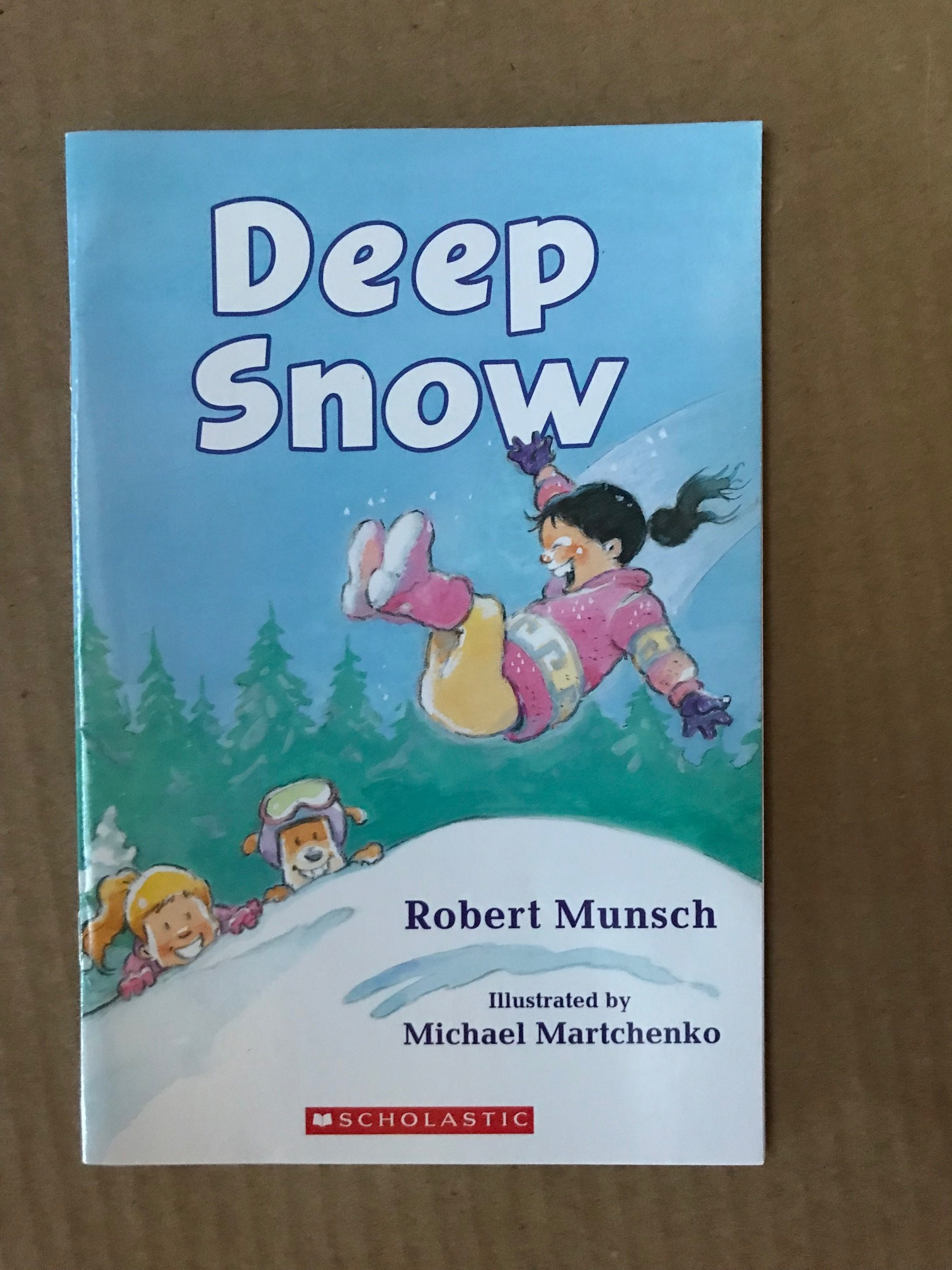Book with or about snow (many Christmas books have snow in them)