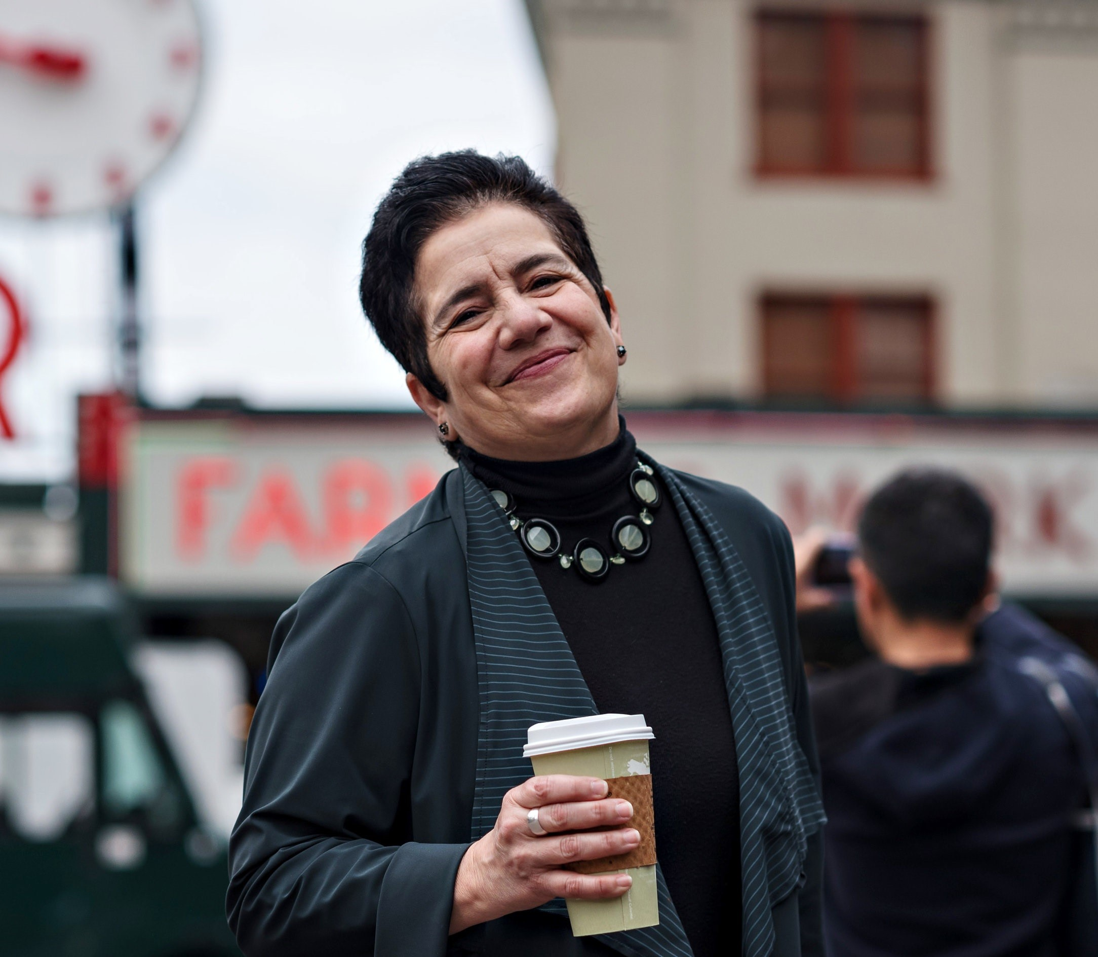 Mary Bacarella, Pike Place Market - Mary Bacarella serves as the Executive Director of the Pike Place Market Preservation and Development Authority (PDA). She joined the Market in January 2018. In her role at Pike Place Market, Bacarella is responsible for the overall operations including finance, marketing, commercial assets, residential housing, facilities management and the preservation and development of the 110-year-old public market and 9-acre market historical district.