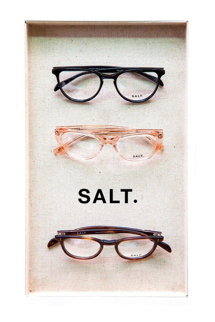 salt frames in a tray