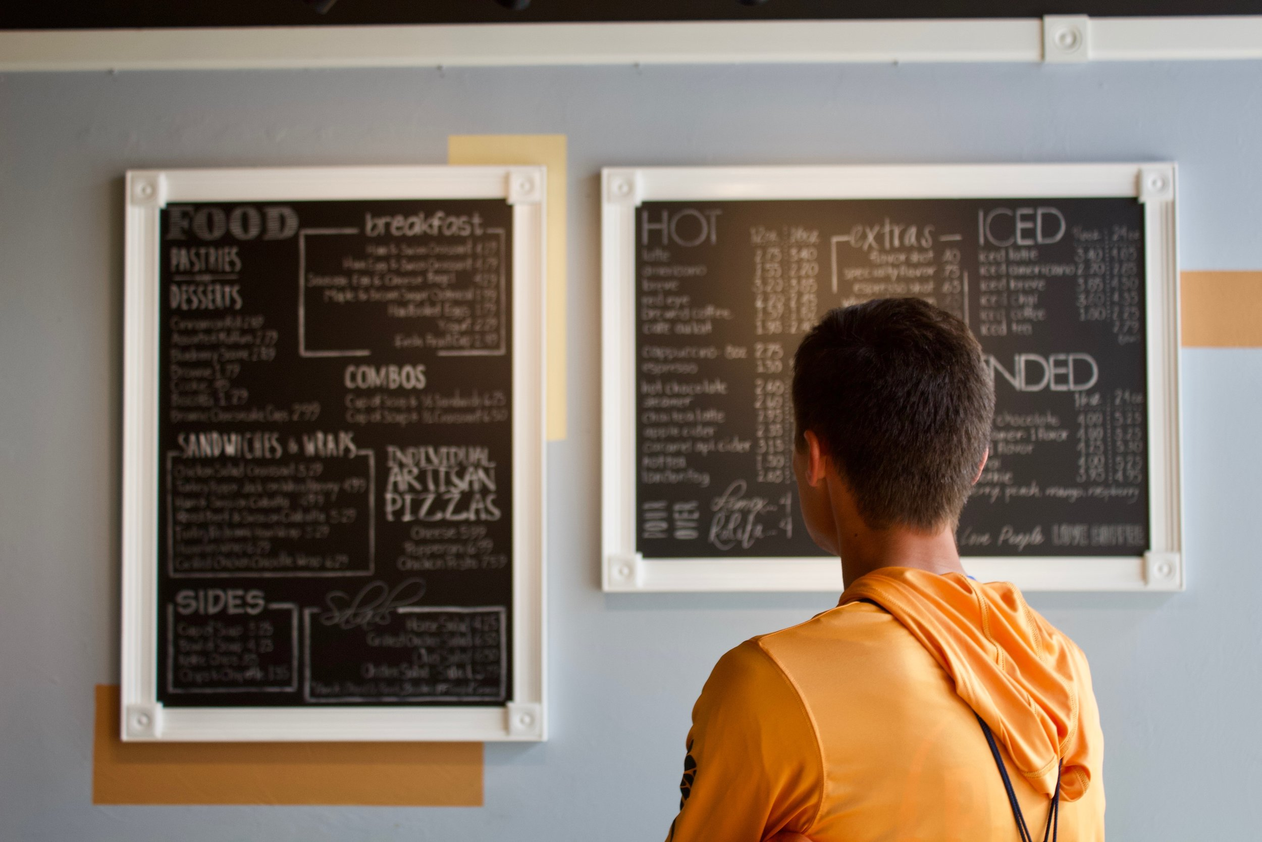 are you creating a menu of data management options?