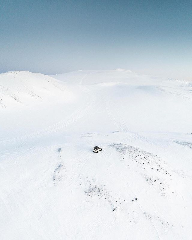 Open, desolate, middle of nowhere - but still somewhere you want to be exploring. #farthermagazine  Photo by @benjaminhardman 📸