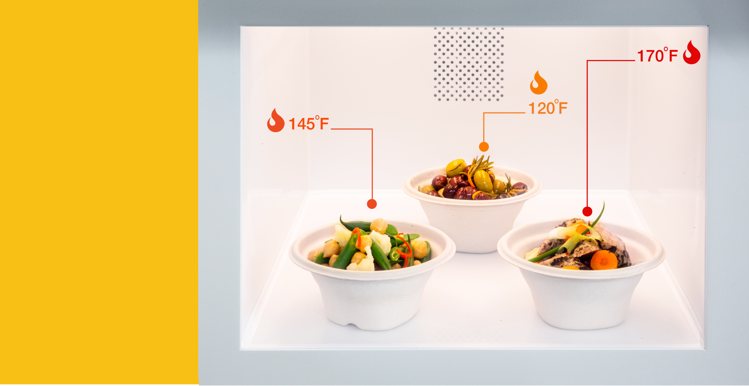 Level Technology—Cook an entire meal at once, each item will get just the right amount of heat to hit the target temperature. -