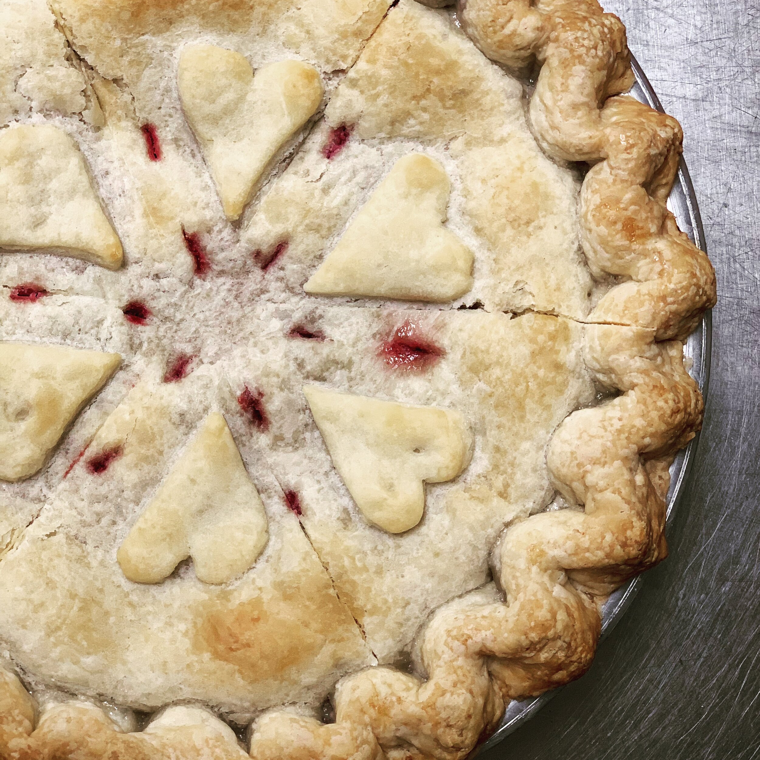 """Nothing Says """"I Love You"""" more than a homemade pie. Pretend you made it- we got your back."""