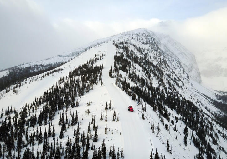 Photo: Castle Mountain Resort