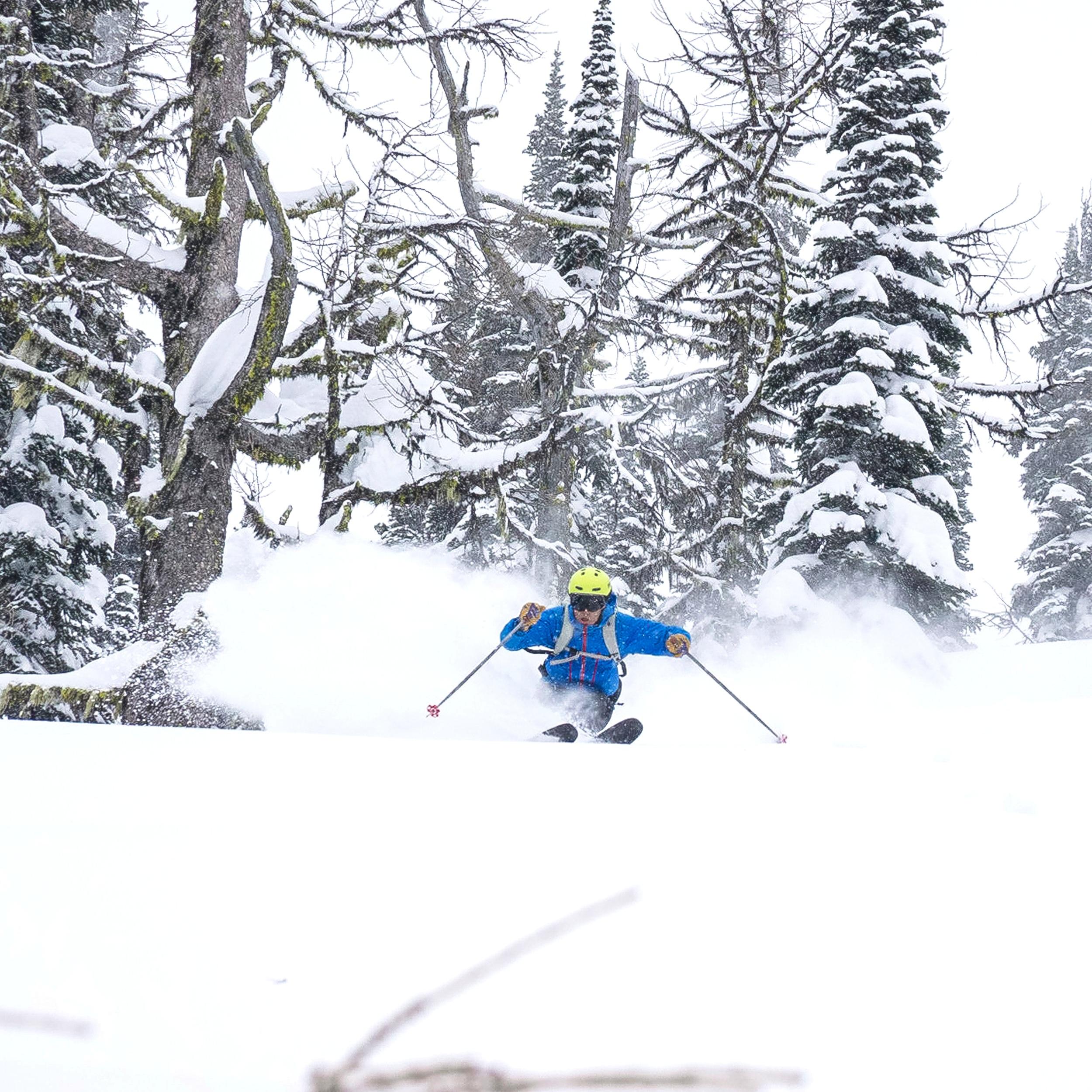 whitewater ski resort pow