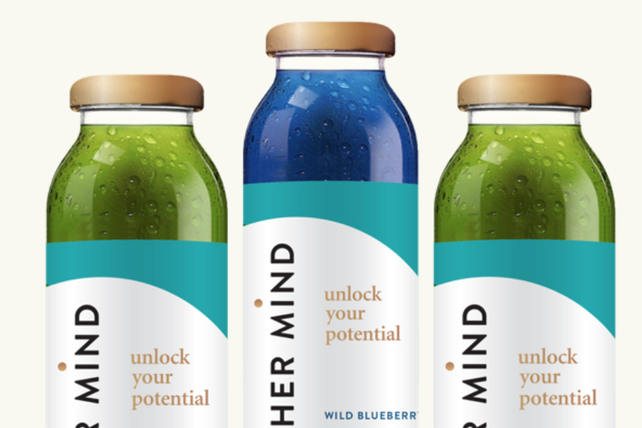 HIGHER MIND WELLNESS - Designed by Noah & the Higher Mind team, Higher Mind is a nootropic beverage consisting of two flavors, Matcha Ginger and Wild Blueberry. Both flavors are developed with real ingredients that literally change your mind.