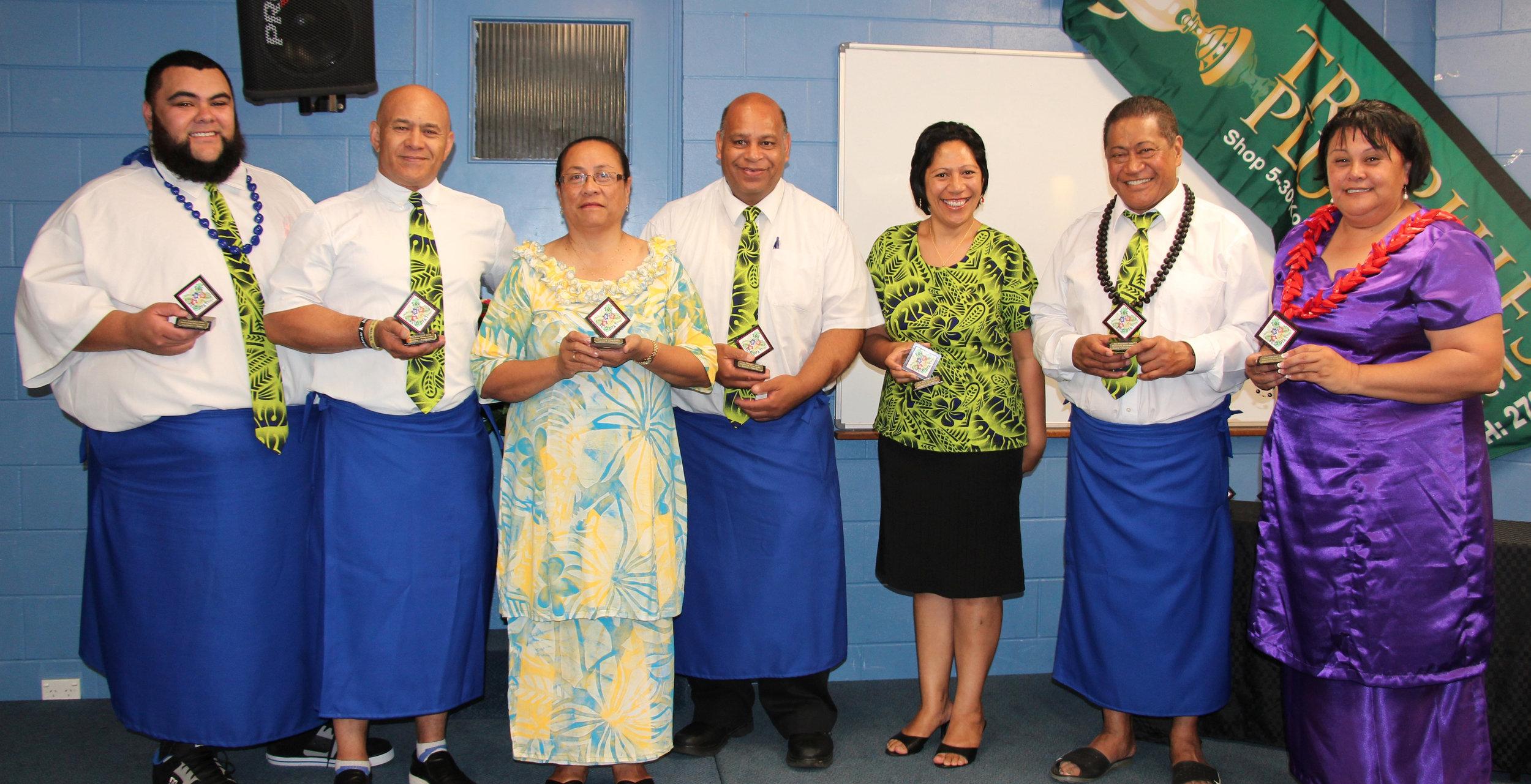 Pasifika Mentoring Programme's first graduation