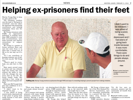 Helping ex-prisoners find their feet