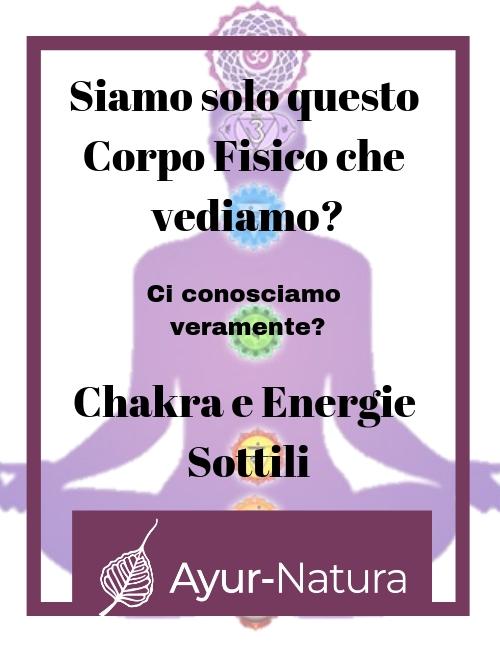Chakra e Energie Sottili