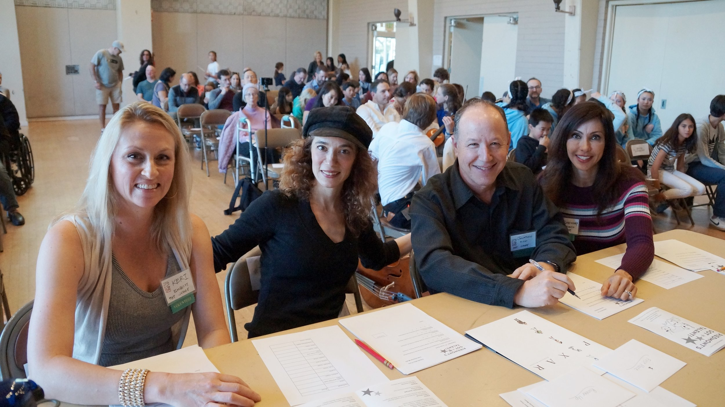 Judges: Keri Elmquist, Emily Keyishian, Jonathan Ring, & Rosemary Orozco