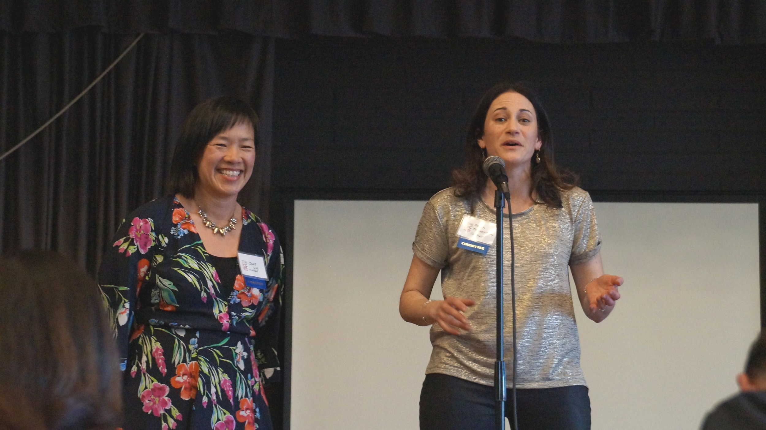Jane Lin & Becca  Posamenier, PAF Co-Chairs