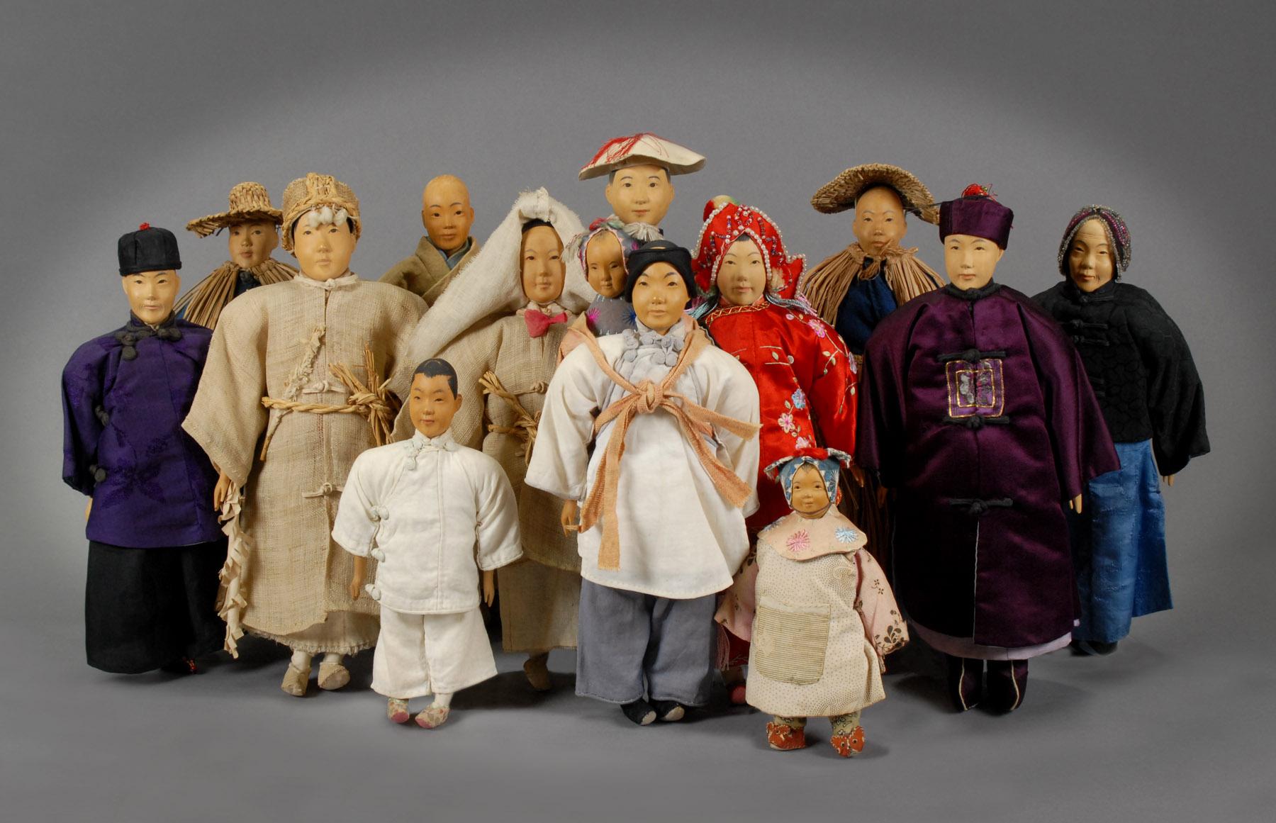 Door of Hope Dolls via  The Grovian Doll Museum