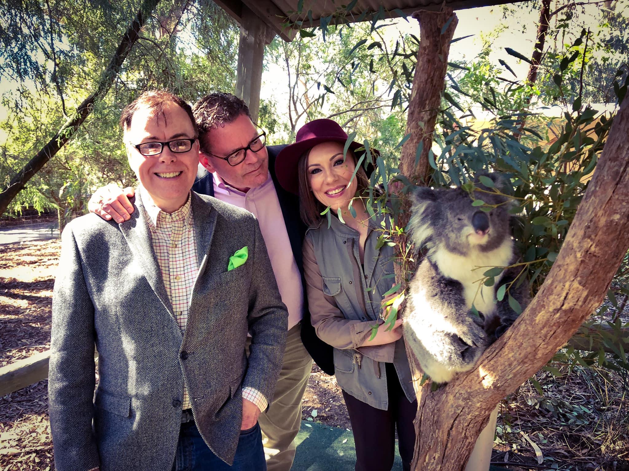 Rachel Hoffman Michael Canadas David Robinson Koala in Australia.jpg
