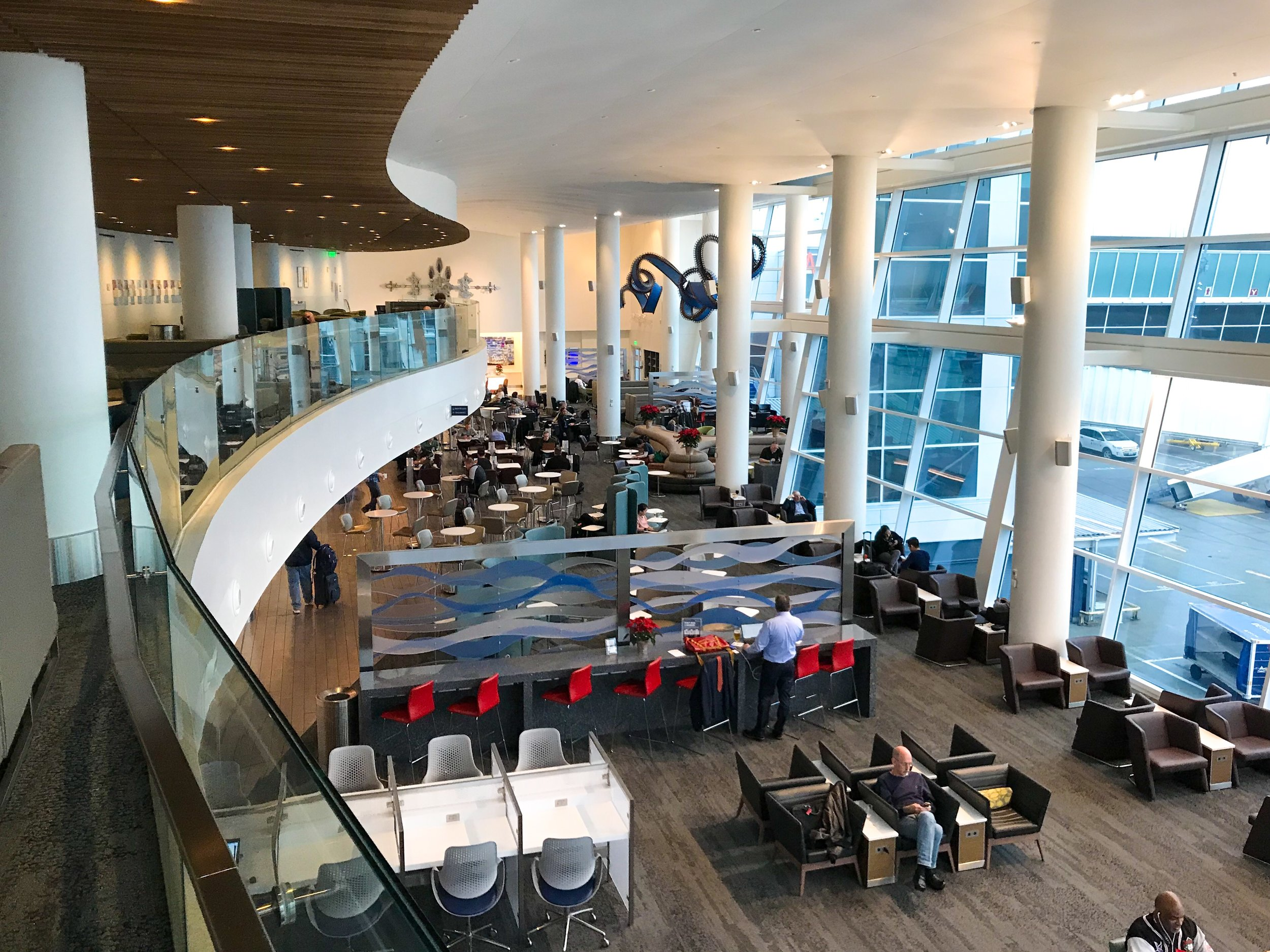 SEATTLE/TACOMA - 2 Sky Club Locations