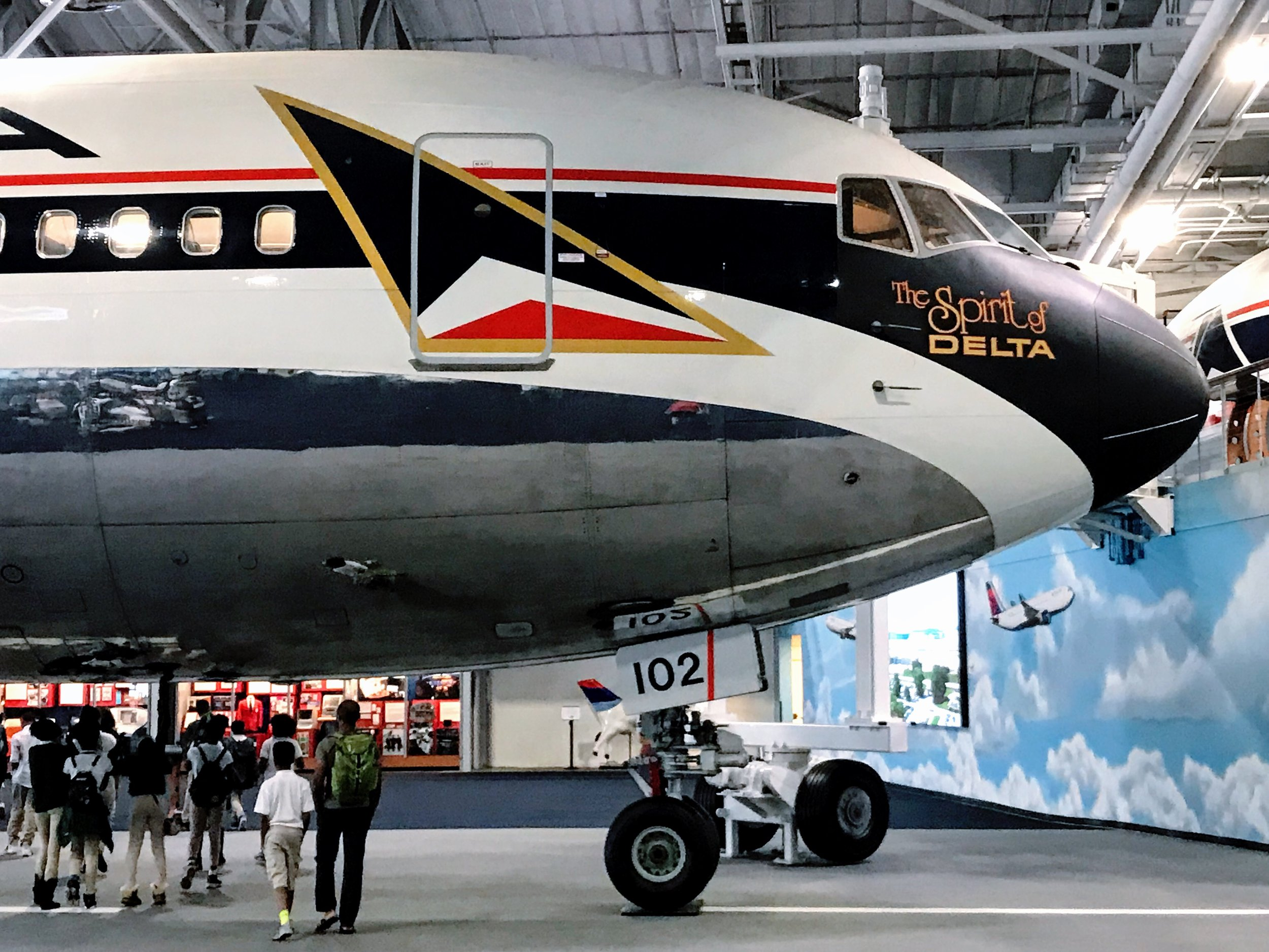 DELTA FLIGHT MUSEUM - Learn about the history of Delta Air Lines and tour several retired aircraft from Delta's fleet