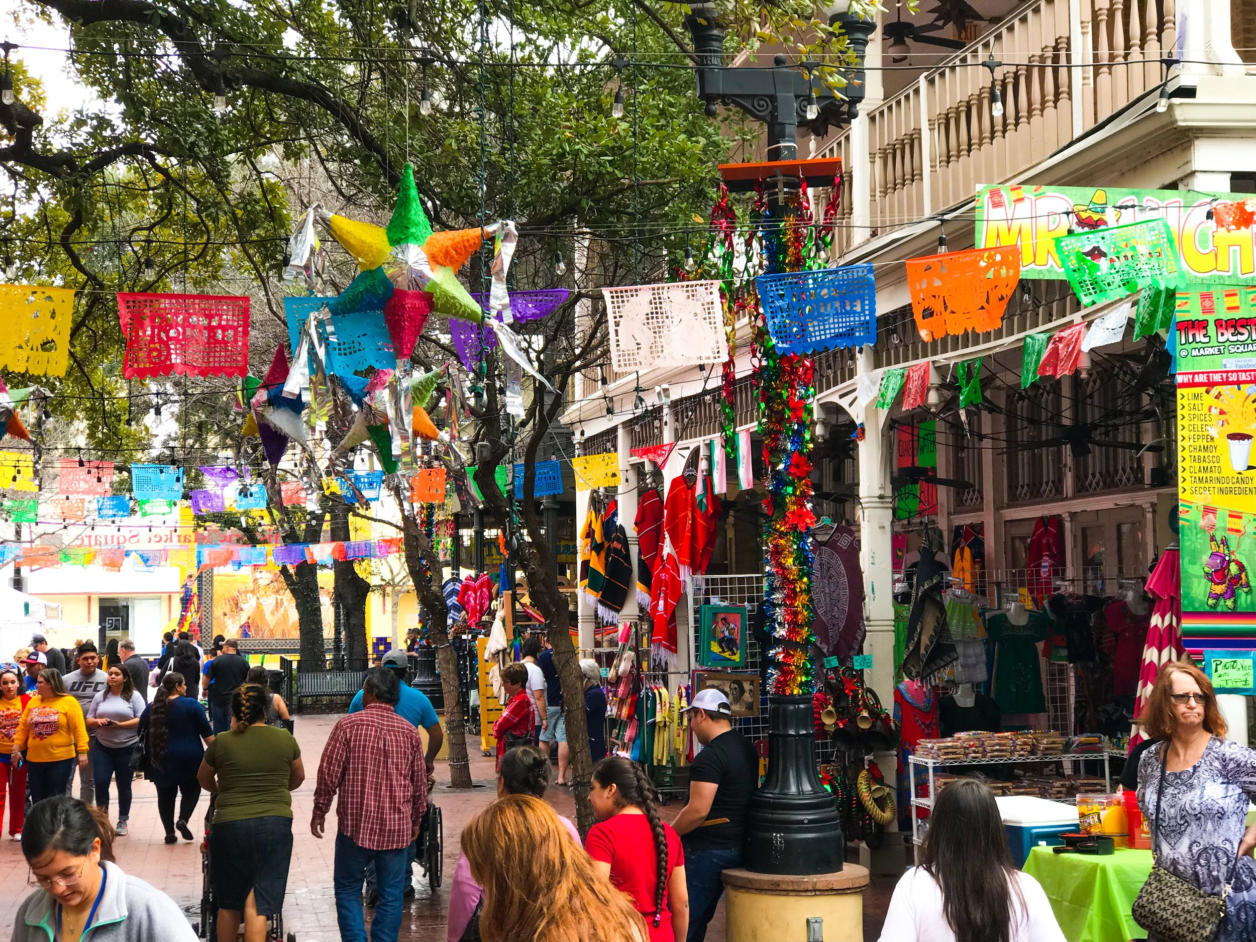 MARKET SQUARE - Shop and dine at the largest Mexican market outside of Mexico